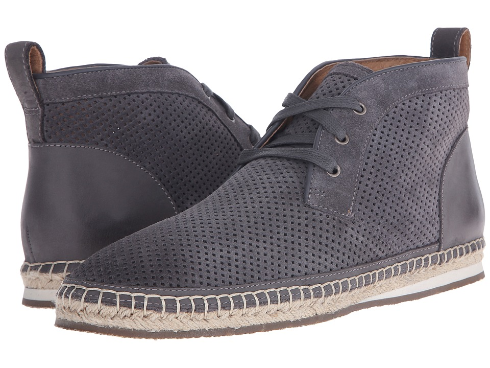 John Varvatos - Mick Espradrile Chukka (Lead) Men