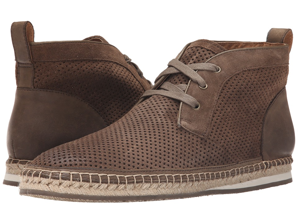 John Varvatos - Mick Espradrile Chukka (Clay) Men