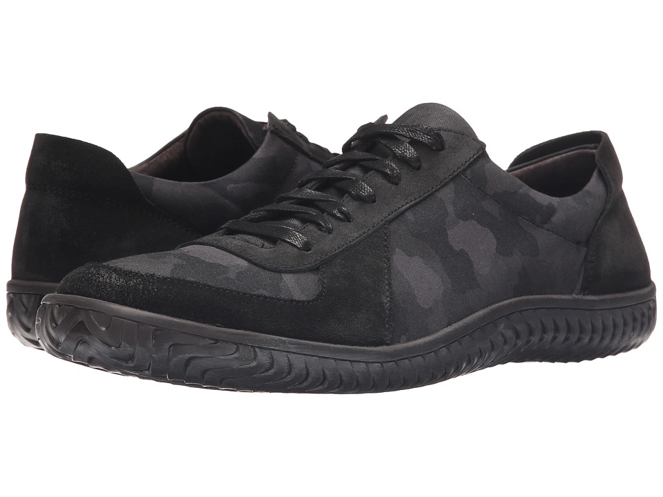 John Varvatos Hattan Trainer (Dark Charcoal) Men