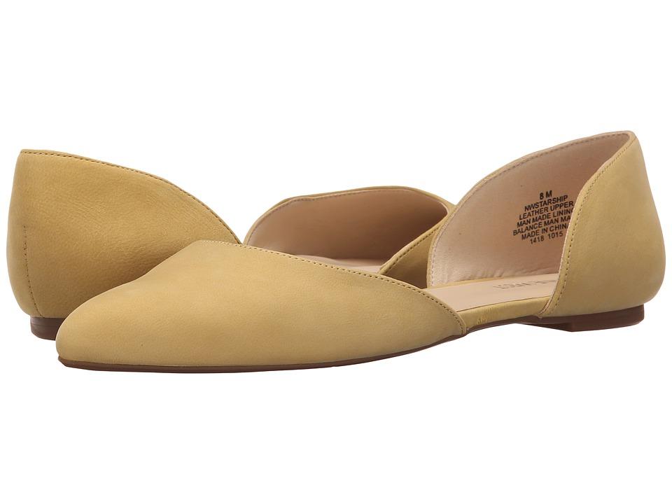 Nine West - Starship (Yellow Nubuck) Women's Shoes