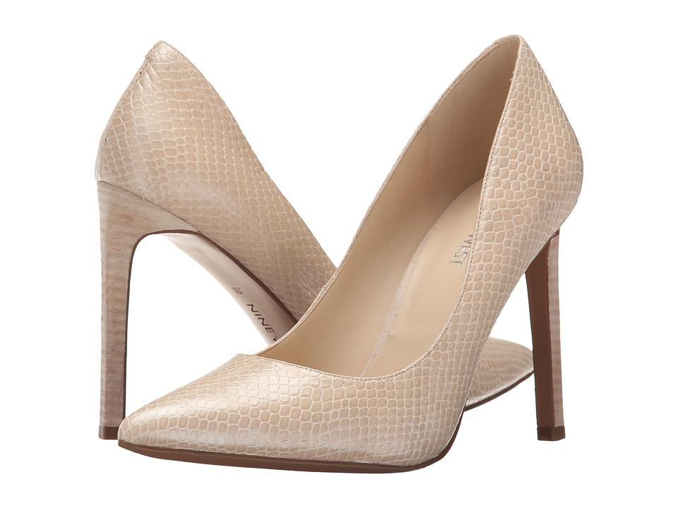Nine West - Tatiana (Off-White Leather) High Heels