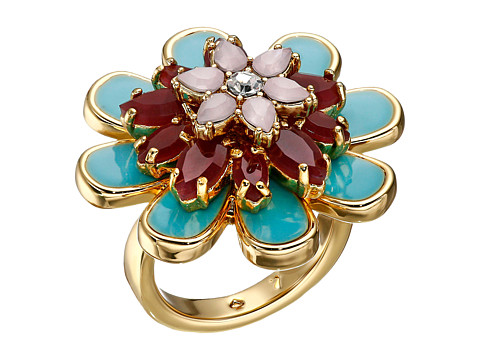 Kate Spade New York - Bold Blooms Flower Ring (Multi) Ring
