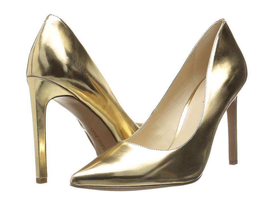 Nine West - Tatiana (Gold Metallic 1) High Heels