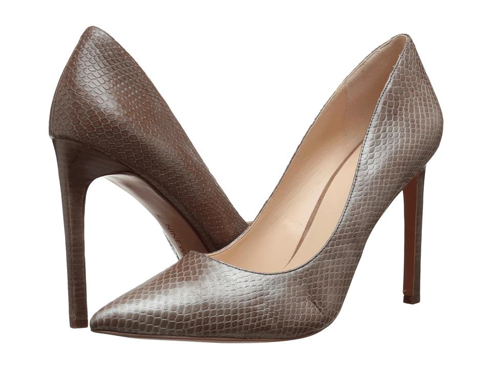 Nine West - Tatiana (Grey Leather 4) High Heels