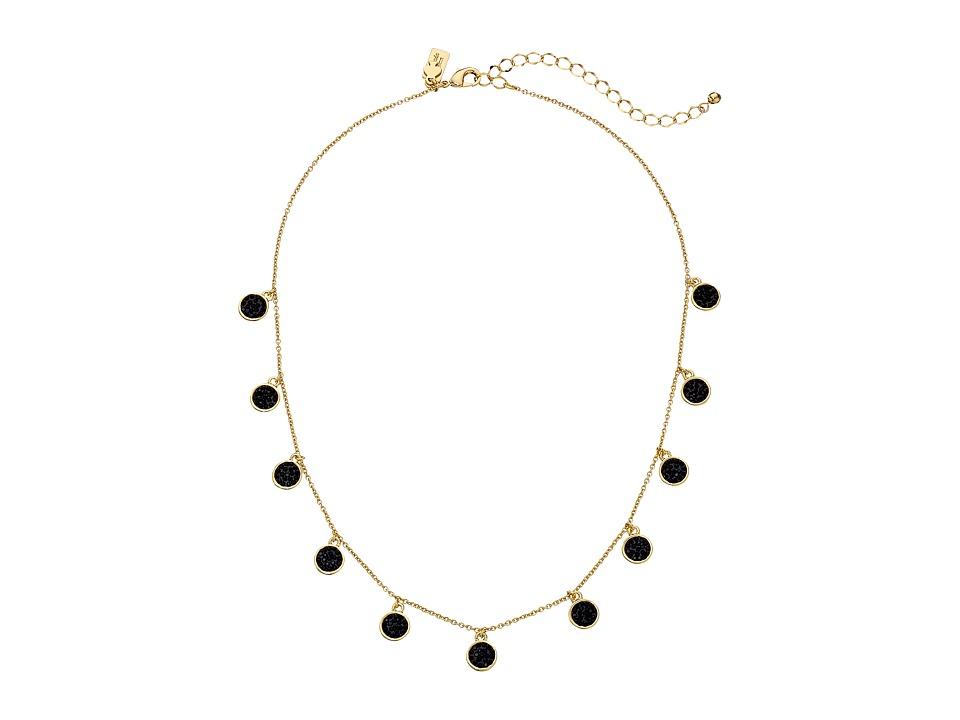 Kate Spade New York - Do Wonders Delicate Necklace (Jetmulti) Necklace