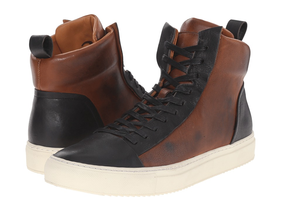 John Varvatos - 315 Reed Hi Top (Walnut) Men