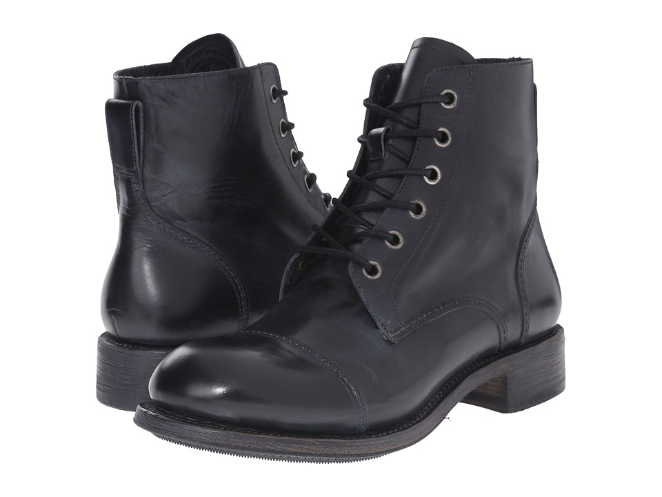 John Varvatos Vintage Lace Boot (Black Multi) Men