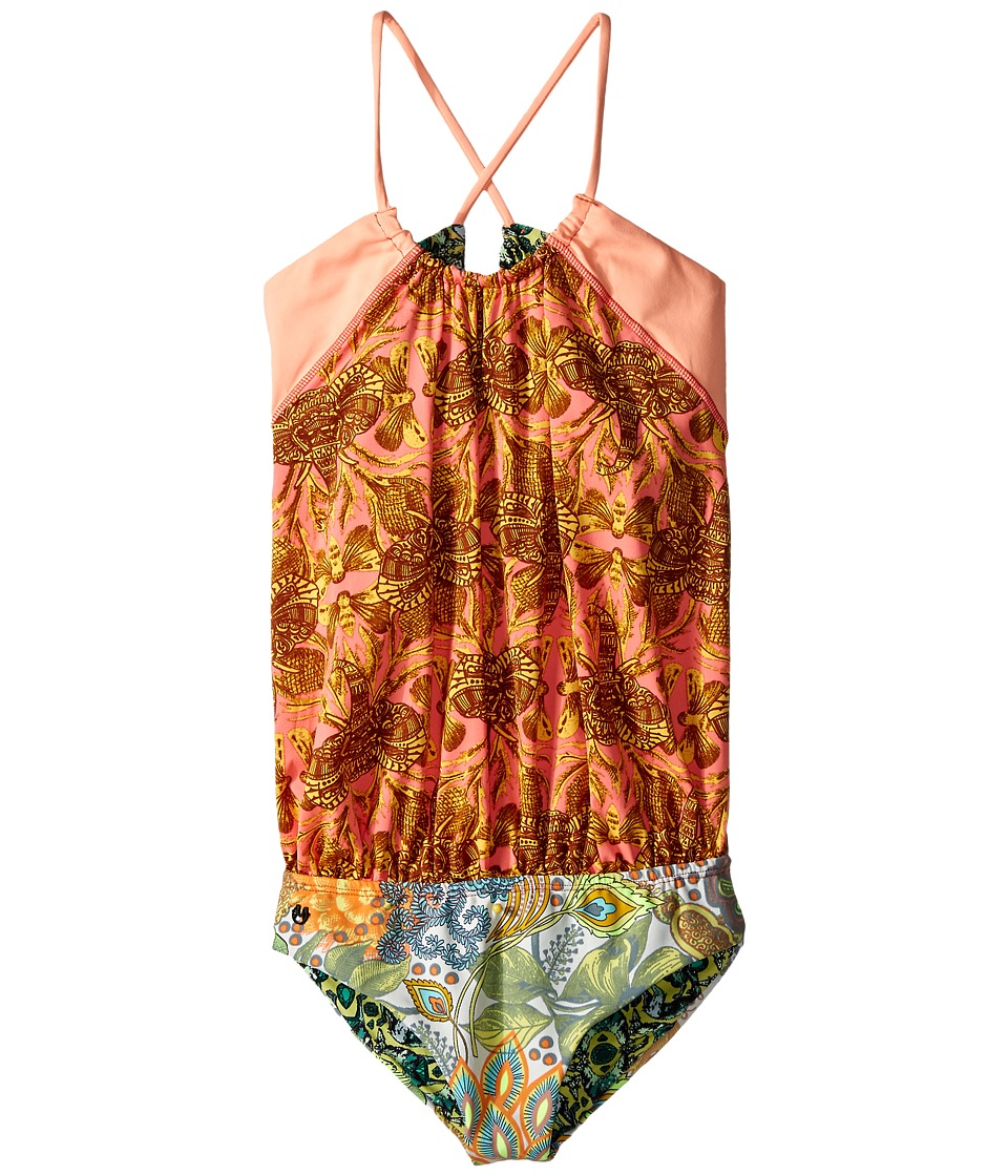 Maaji Kids - Back in Town One-Piece (Toddler/Little Kids/Big Kids) (Multicolor) Girl's Swimsuits One Piece