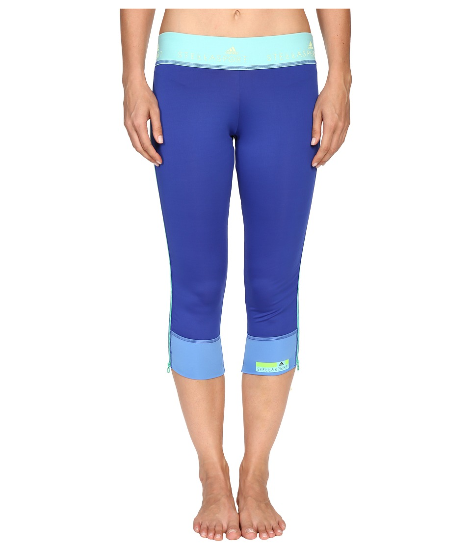 adidas - 3/4 Tights AI5431 (Bold Blue) Women's Workout