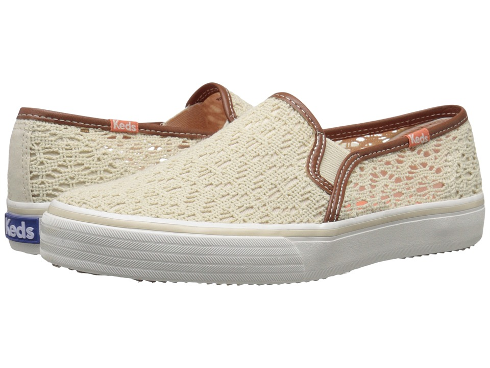 Keds - Double Decker Crochet (Natural) Women's Shoes