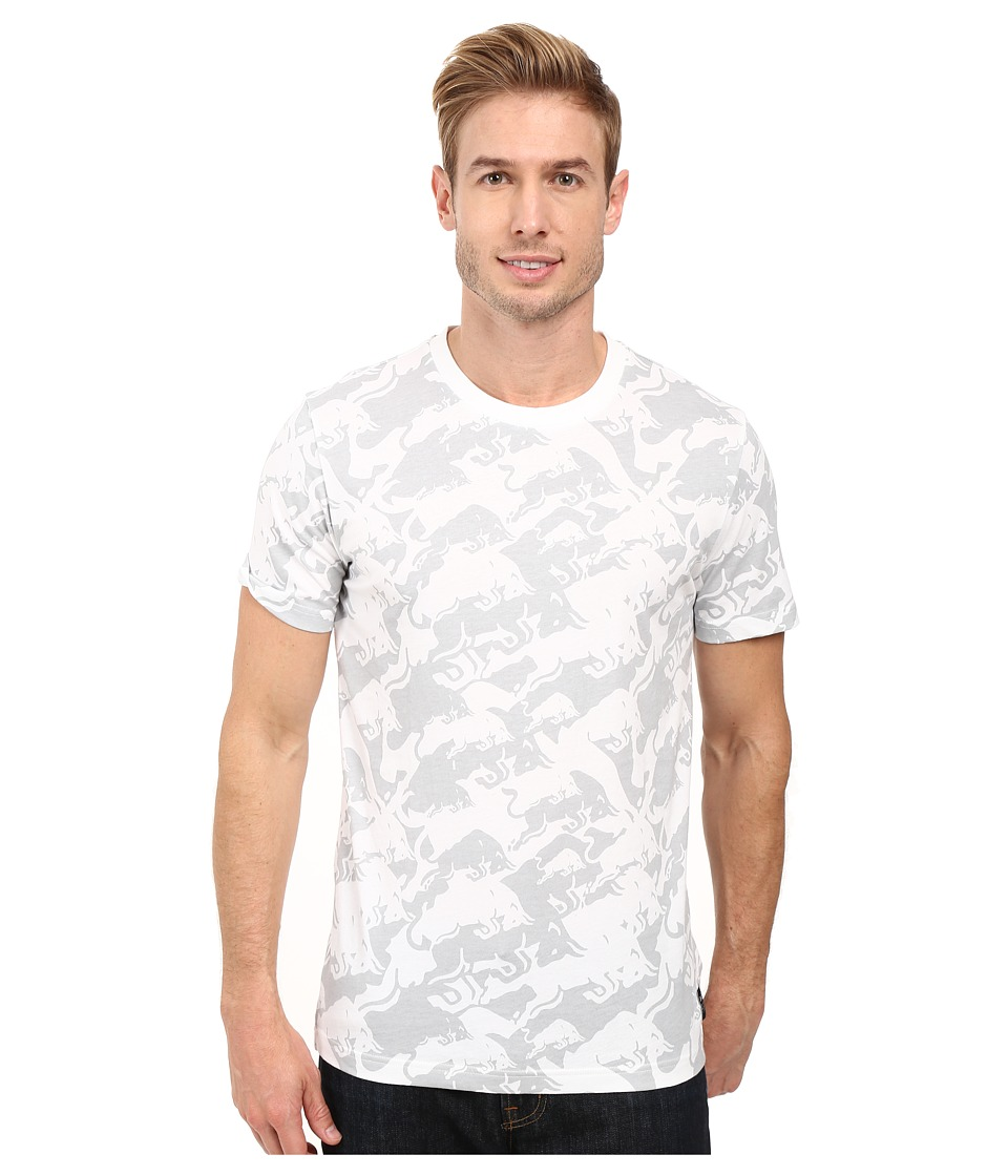 PUMA - IRBR LS Allover Tee (White) Men's T Shirt