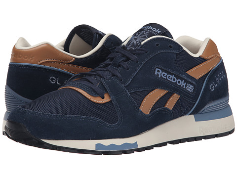 Reebok - GL 6000 Casual (Faux Indigo/Blue Slate/Paper White) Men