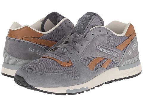 Reebok - GL 6000 Casual (Shark/Baseball Grey/Paper White) Men's Shoes