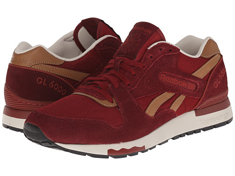 Reebok - GL 6000 Casual (Mulberry Red/Terra Red/Paper White) Men