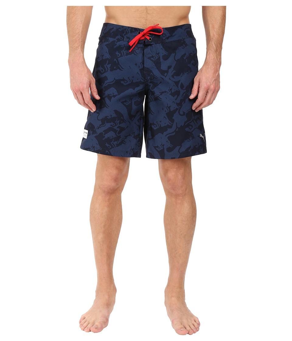 PUMA - IRBR LS Boardshorts (Total Eclipse) Men's Swimwear