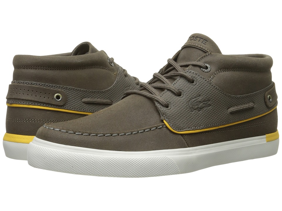 Lacoste - Meyssac Deck 116 1 (Dark Brown) Men's Shoes