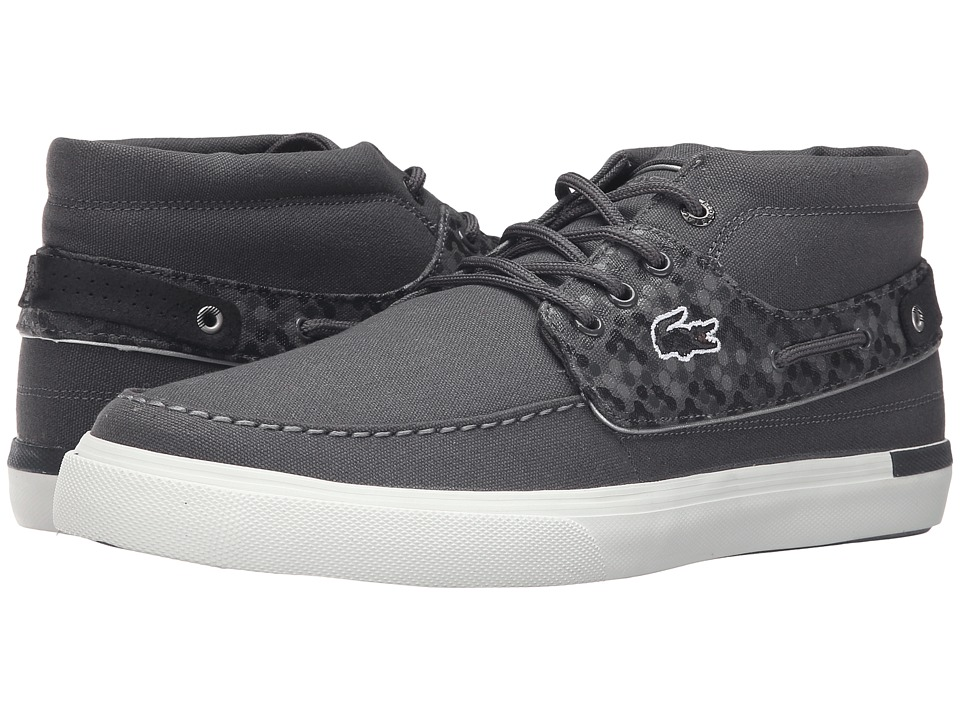 Lacoste - Meyssac Deck 116 2 (Dark Grey) Men's Shoes