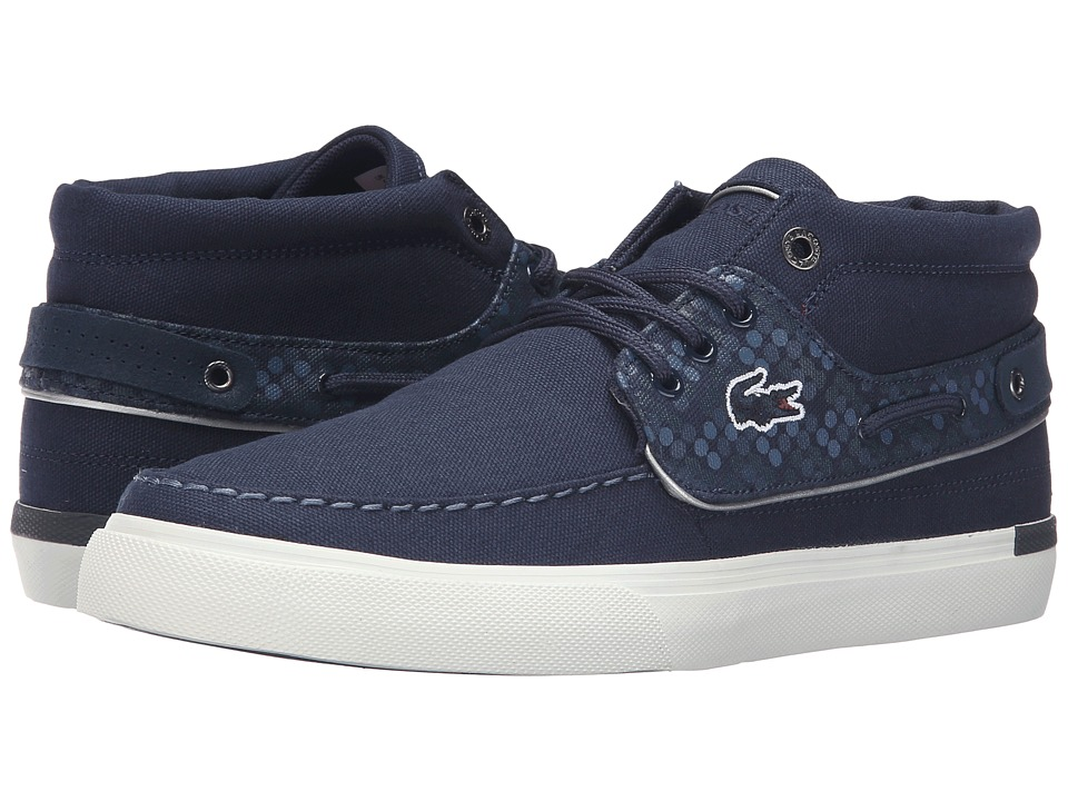 Lacoste - Meyssac Deck 116 2 (Navy) Men's Shoes