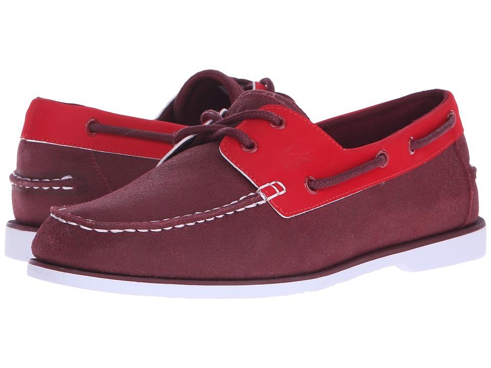 Lacoste - Navire Casual 116 1 (Dark Red) Men