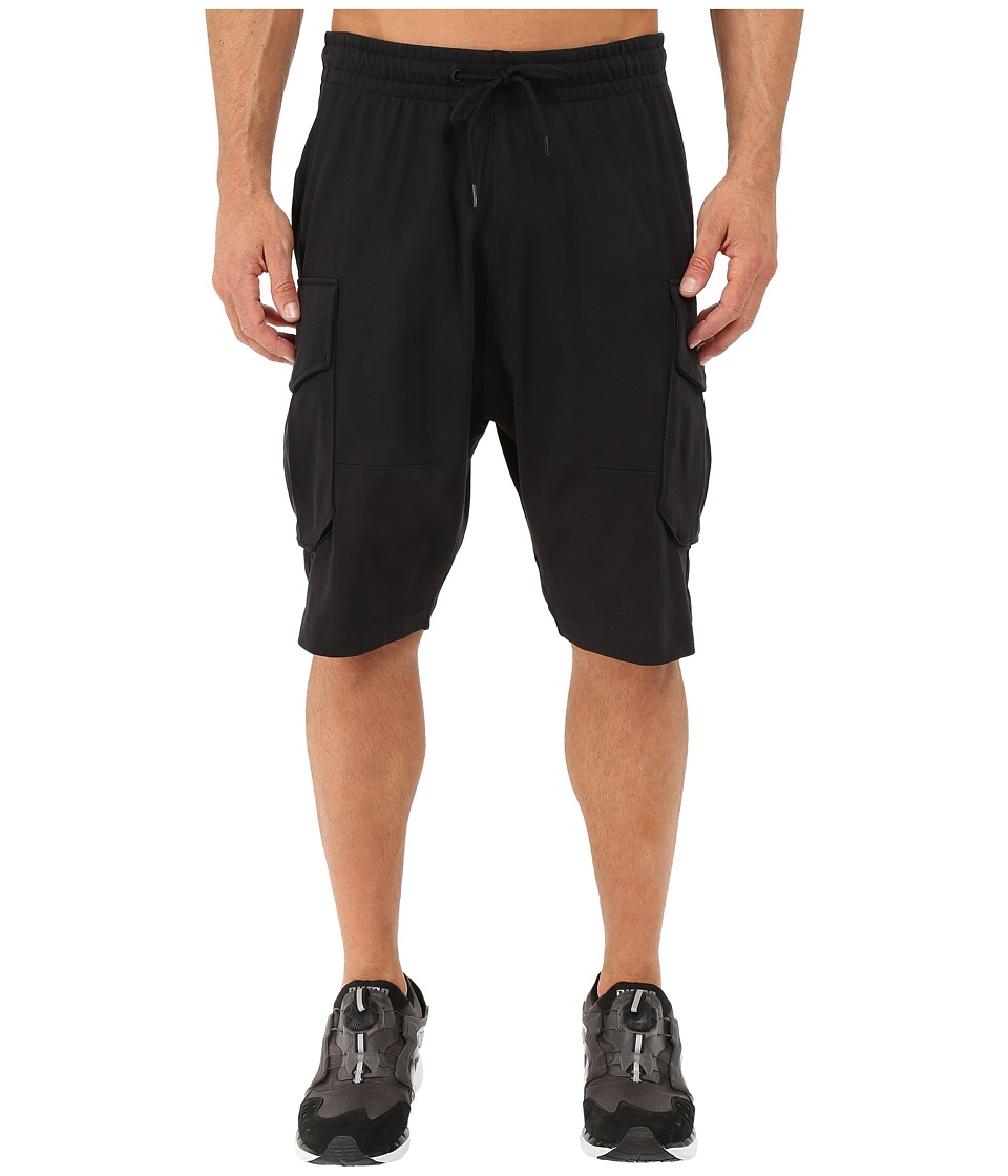PUMA - EVO Running Cargo Bermudas (Black) Men's Shorts