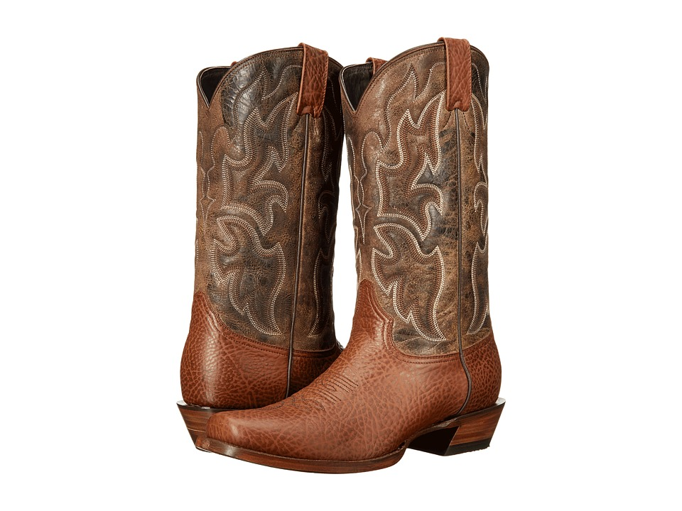 Stetson Red Rock (Light Beige) Cowboy Boots