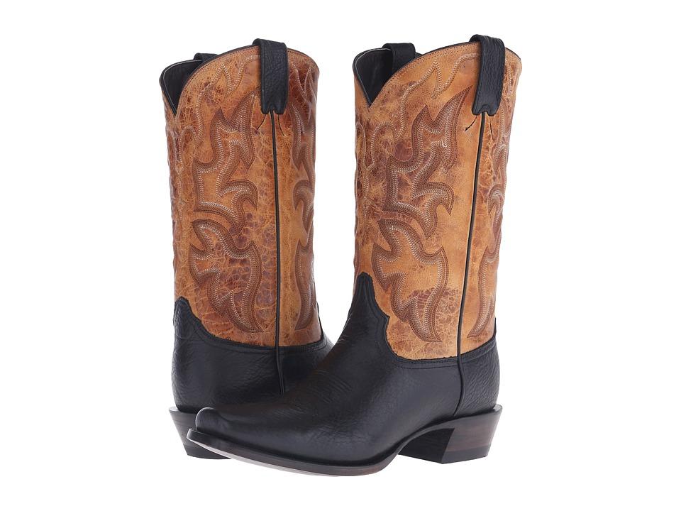 Stetson - Summer Reign (Black) Cowboy Boots