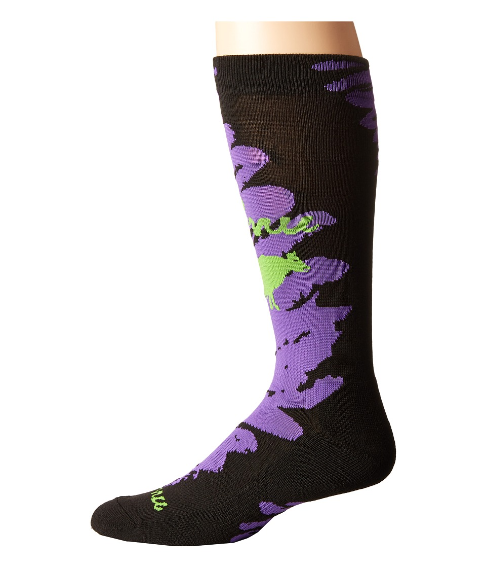Gnu - Advanced Geo Socks (Purple) Men's Low Cut Socks Shoes