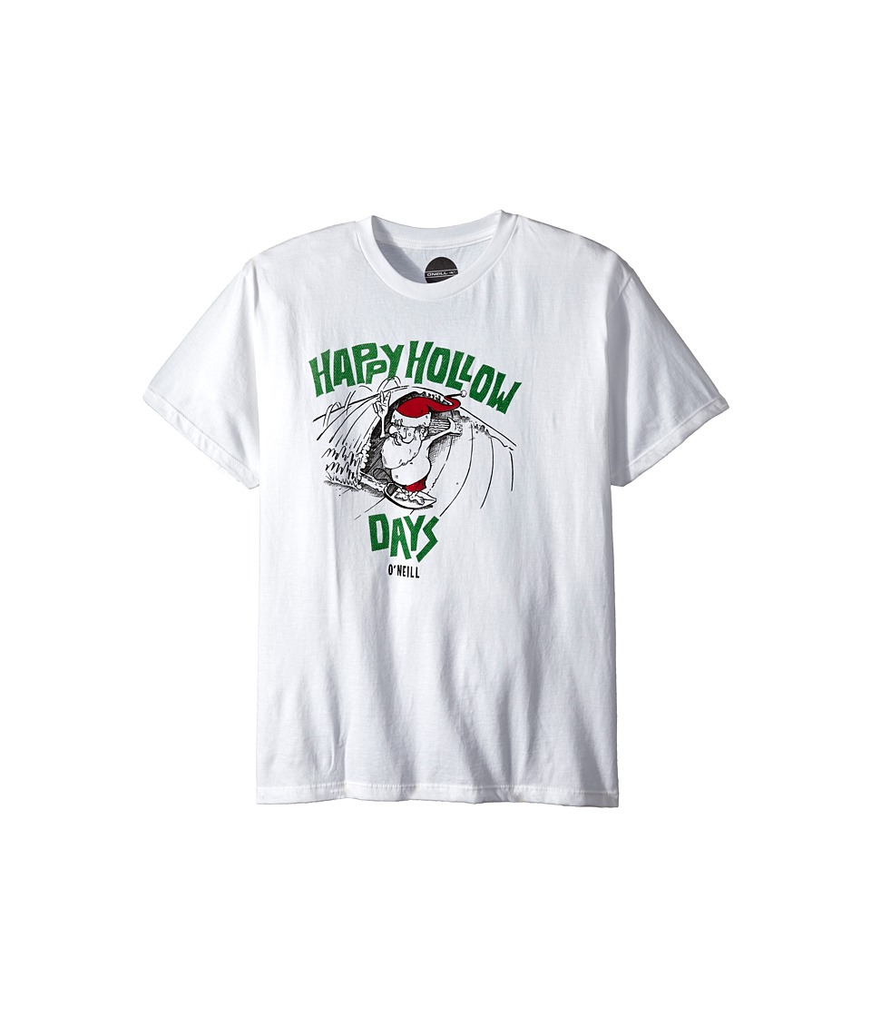 O'Neill Kids - Hollow Days (Big Kids) (White) Boy's T Shirt