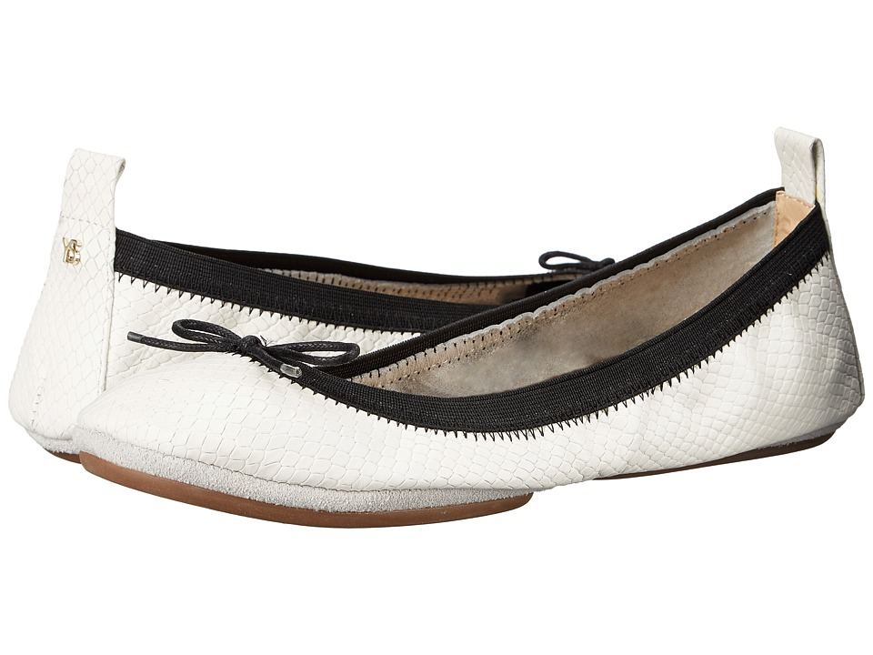 Yosi Samra - Sandrine (White) Women's Flat Shoes
