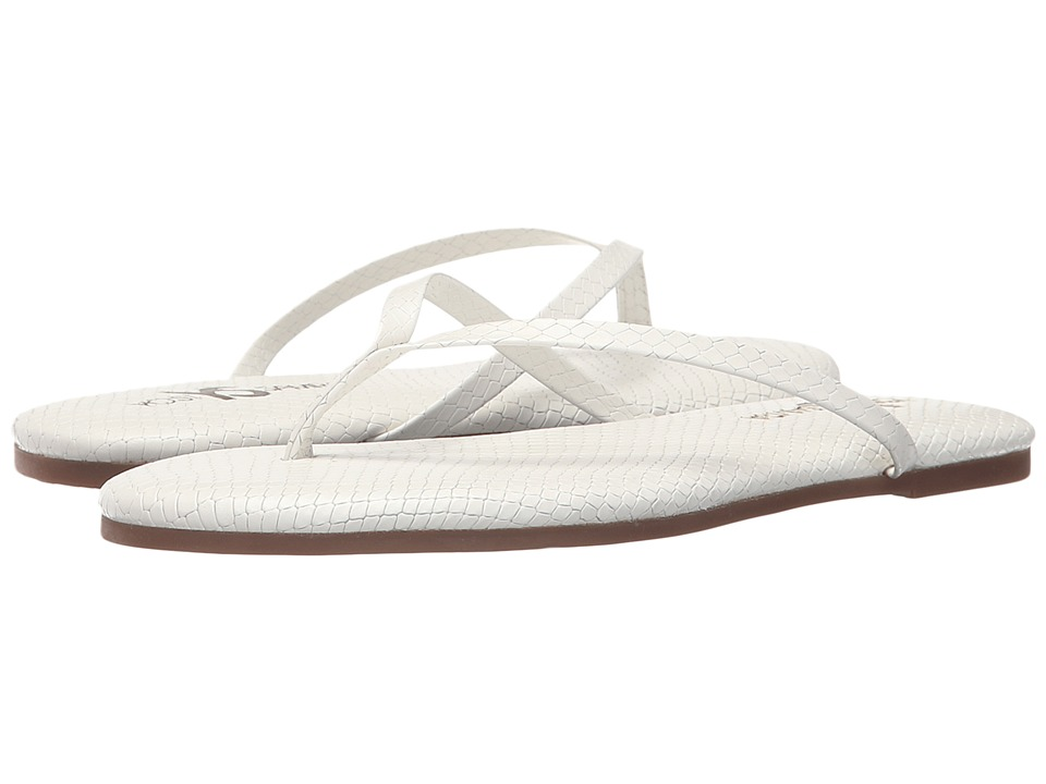 Yosi Samra - Roee (White) Women's Flat Shoes