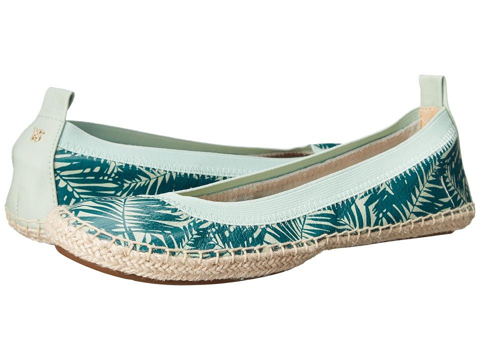Yosi Samra - Lara (Sage/Pine) Women's Flat Shoes