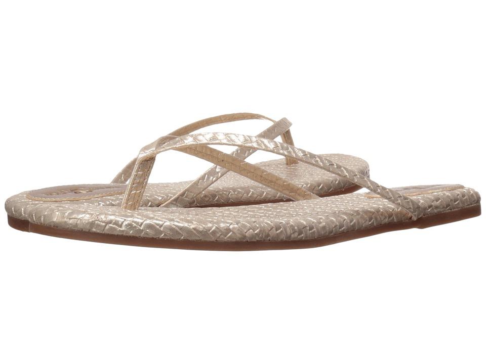 Yosi Samra - Roee (Champagne) Women's Flat Shoes