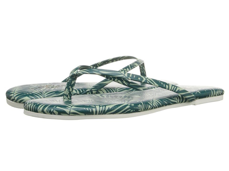Yosi Samra - Roee (Sage/Pine) Women's Flat Shoes