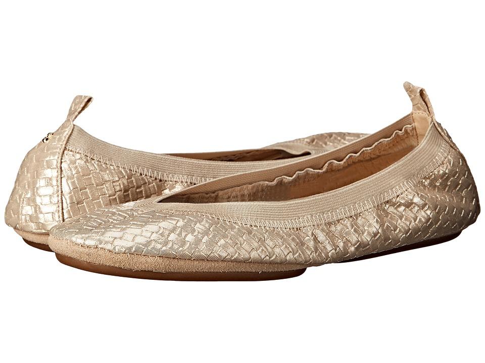Yosi Samra - Samara (Champagne) Women's Flat Shoes