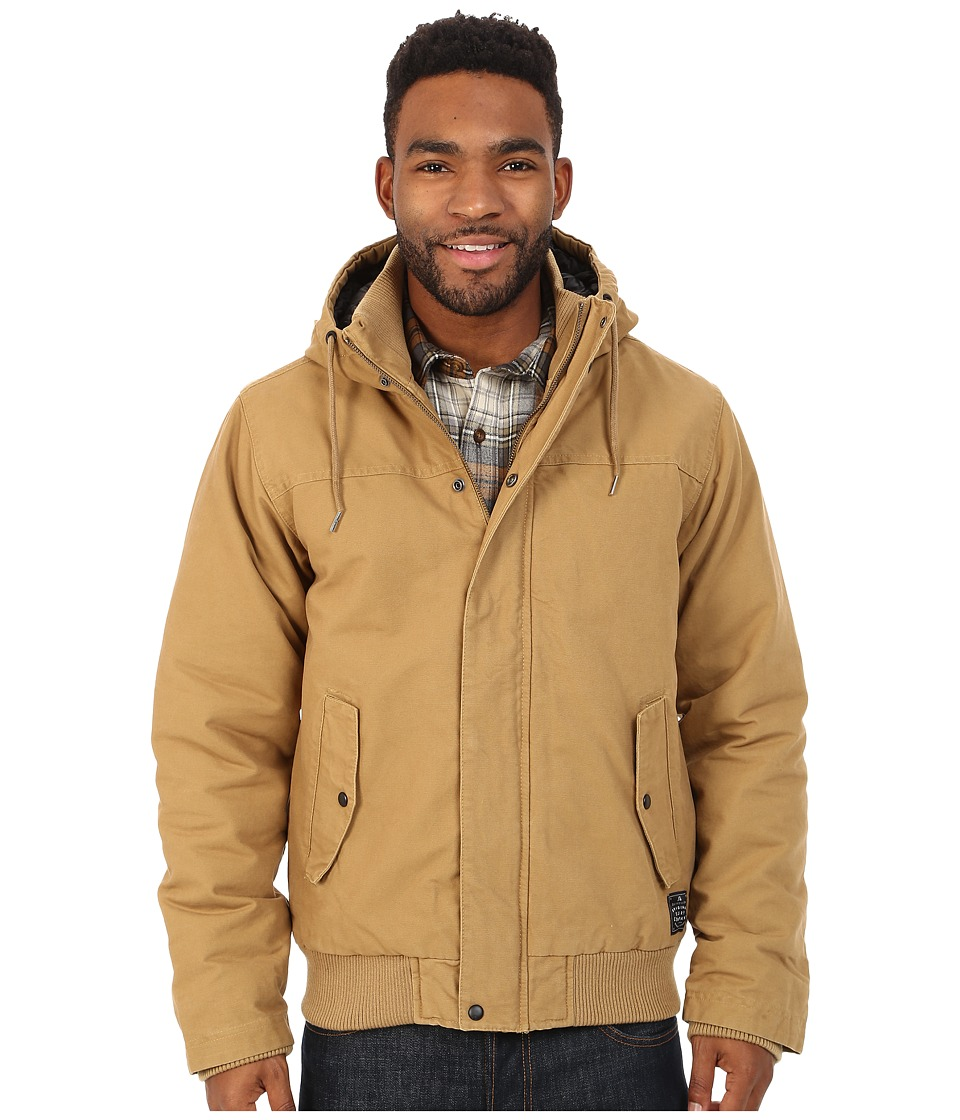Quiksilver - Brooks Parka Jacket (Dull Gold) Men's Coat