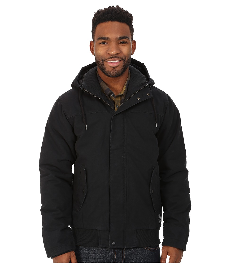 Quiksilver - Brooks Parka Jacket (Anthracite) Men