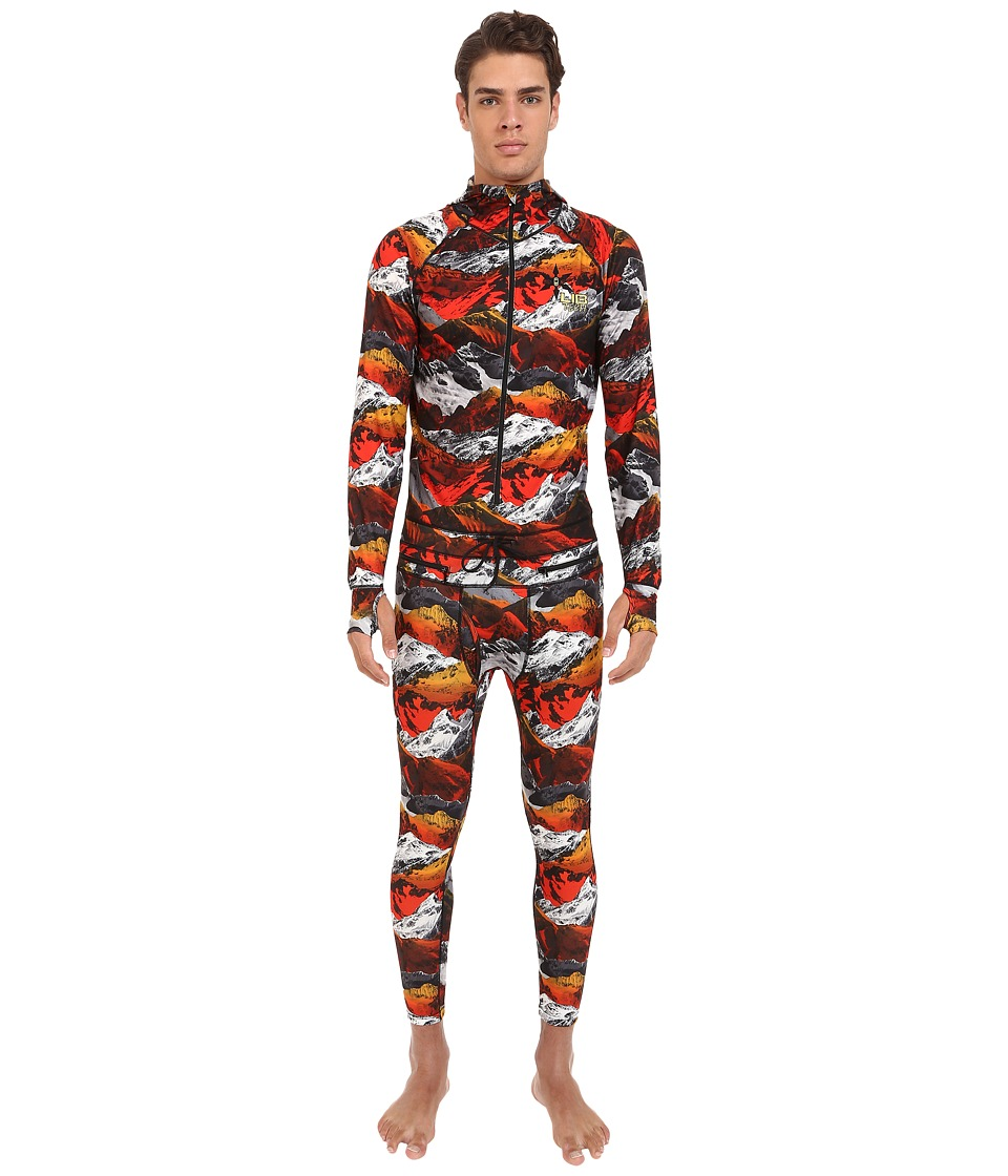 Lib Tech - Blaster Ninja Suit (Zimmo Print) Men's Snow Bibs One Piece