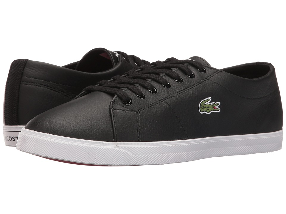 Lacoste - Marcel LCR3 (Black/Black) Men's Shoes