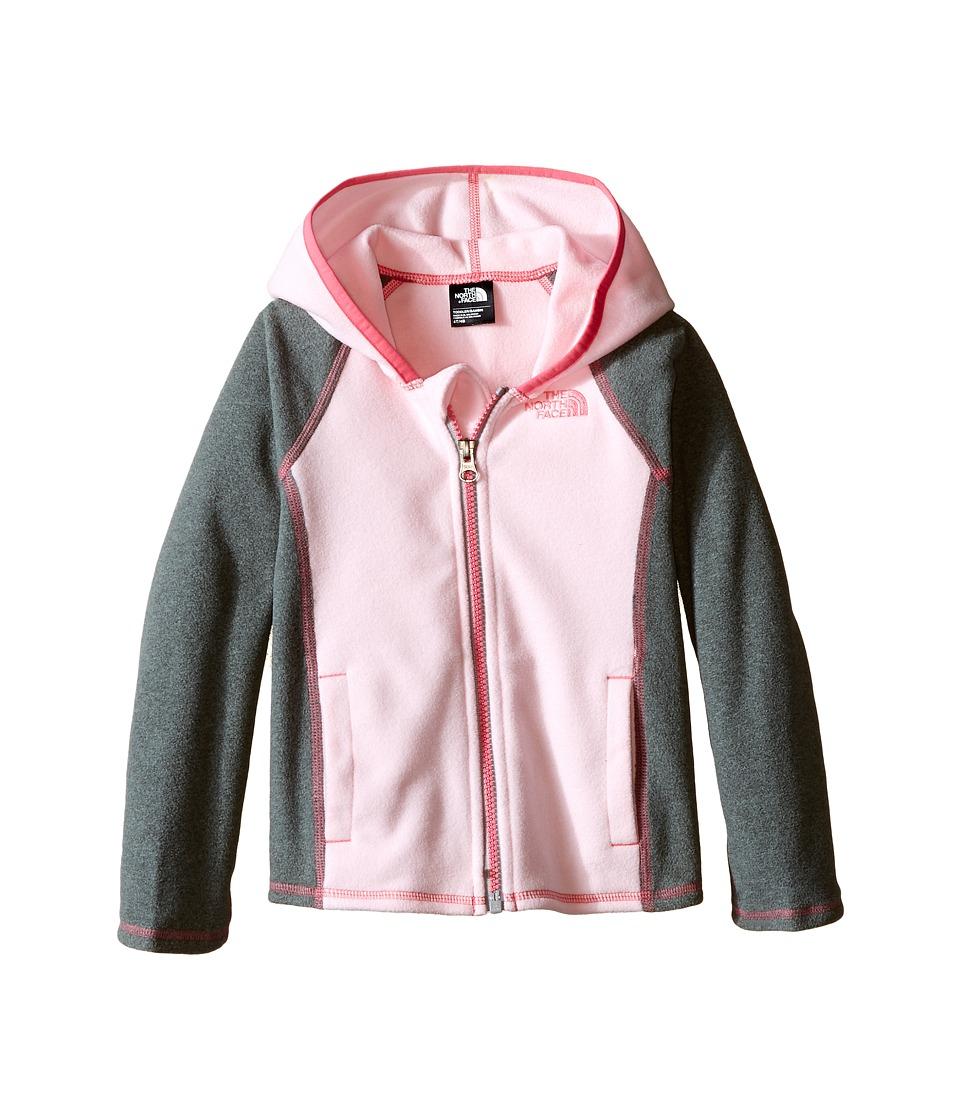 The North Face Kids - Glacier Full Zip Hoodie (Toddler) (Coy Pink) Girl's Sweatshirt