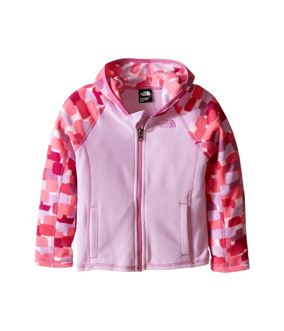 The North Face Kids - Glacier Full Zip Hoodie (Toddler) (Lupine) Girl's Sweatshirt