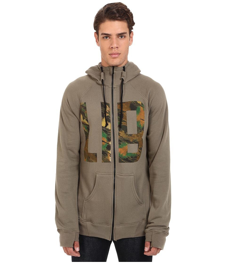 Lib Tech - Kraftsmen Hoodie (Brindle) Men's Sweatshirt