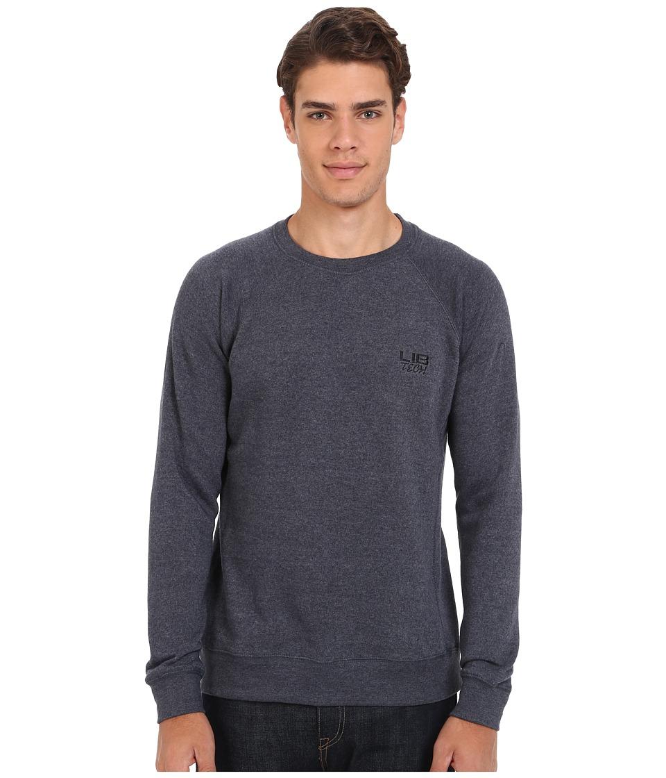 Lib Tech - Bellinghammer Crew Sweater (Heather Blue) Men's Sweatshirt