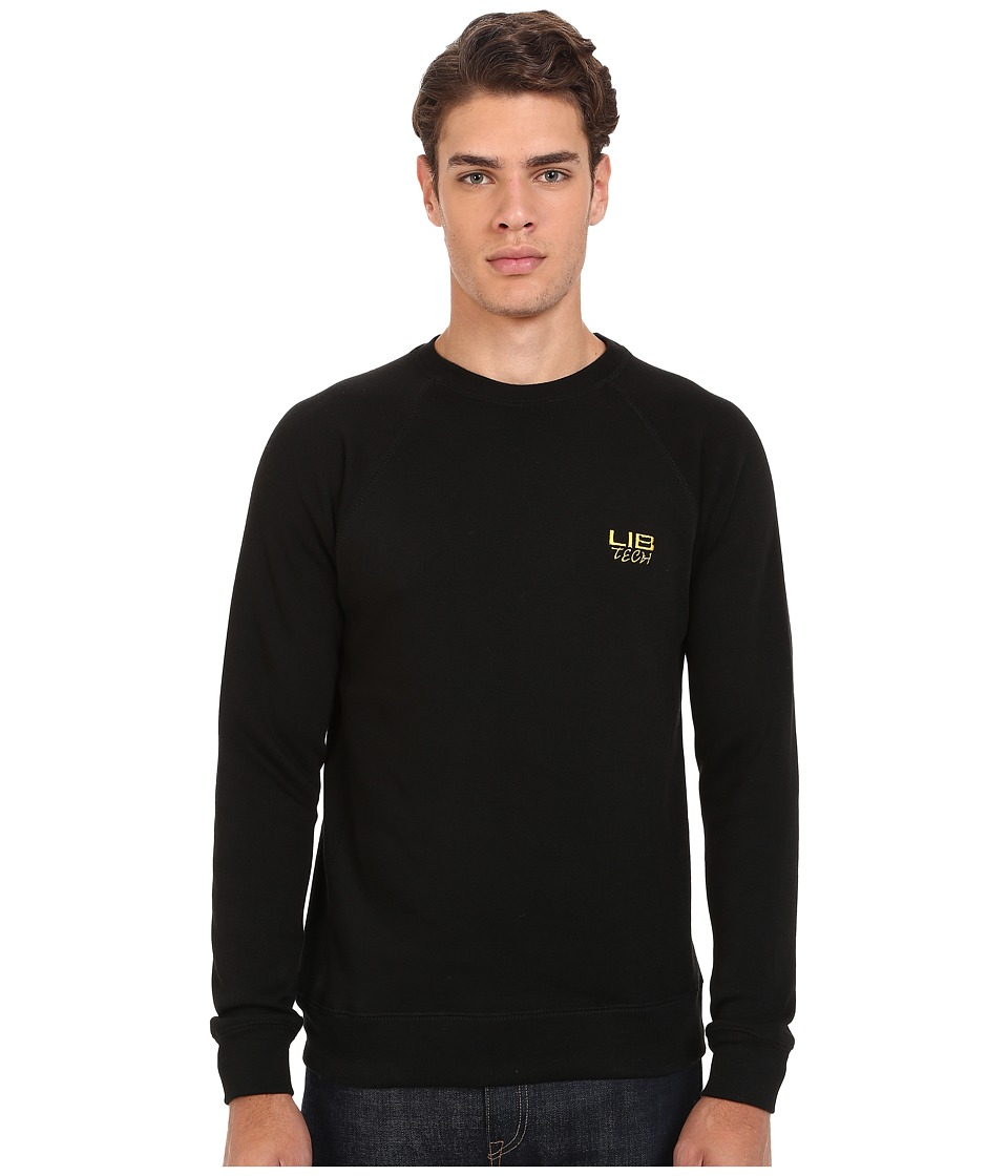 Lib Tech - Bellinghammer Crew Sweater (Charcoal) Men's Sweatshirt