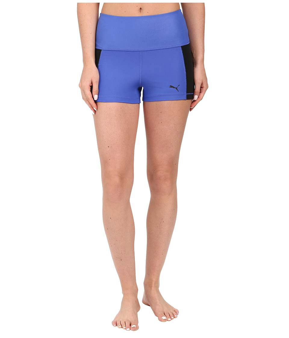 PUMA - Pwrshape Short Tights (Dazzling Blue) Women's Shorts