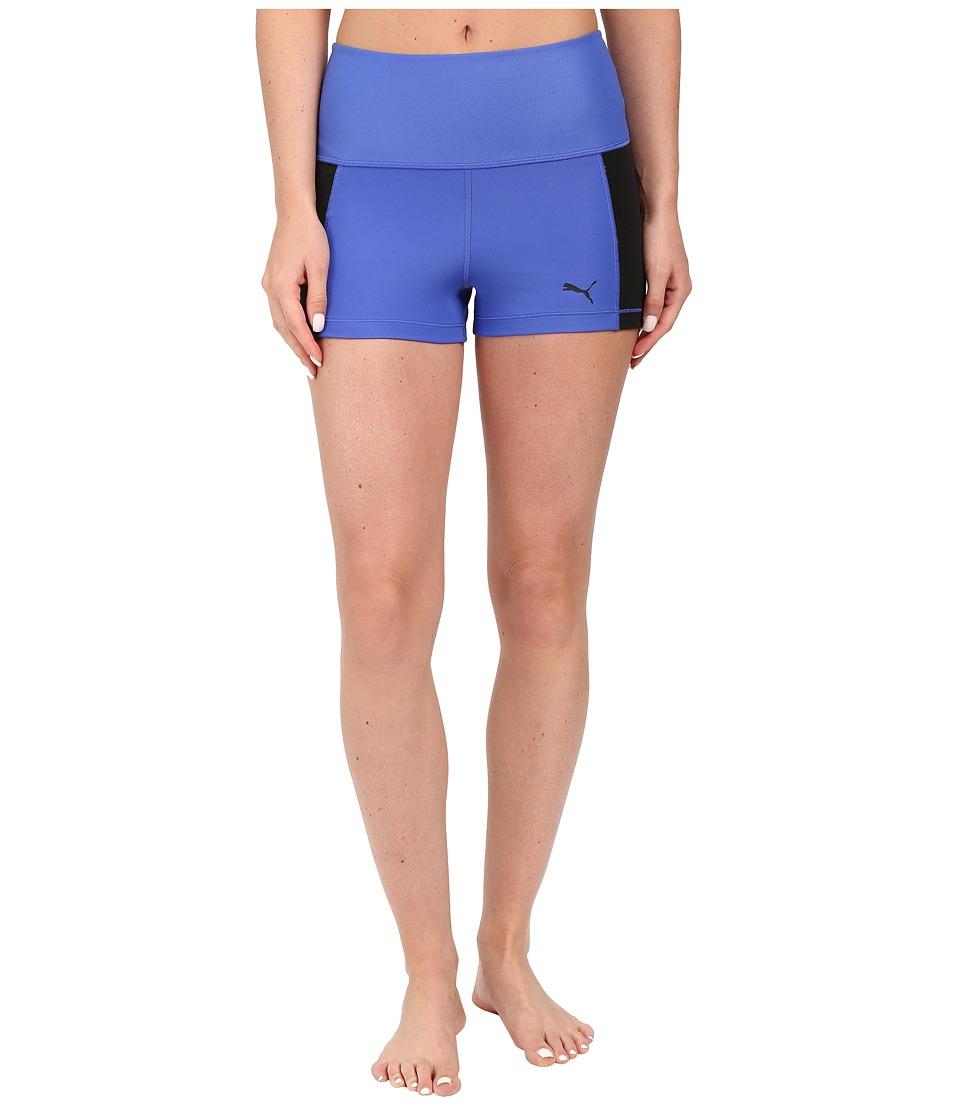 PUMA Pwrshape Short Tights (Dazzling Blue) Women