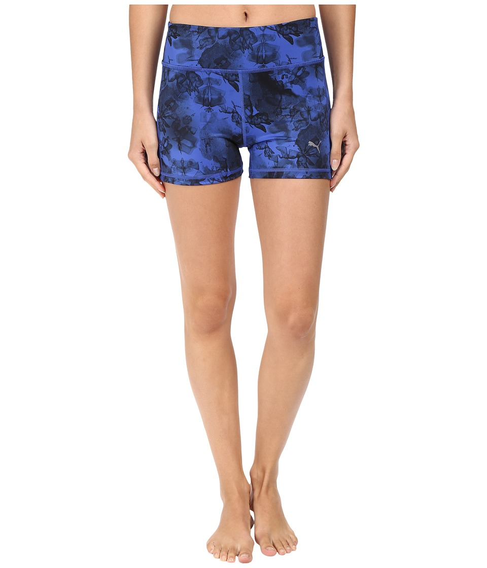 PUMA - Essential Graphic Shorts (Dazzling Blue) Women's Shorts