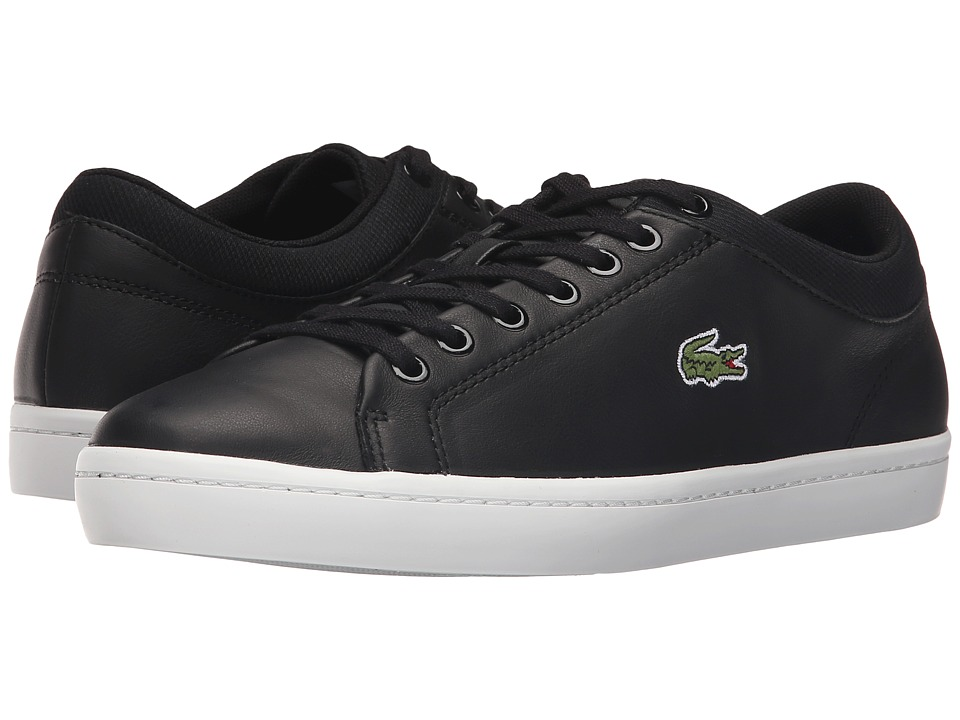 Lacoste - Straightset SPT 1161 (Black) Men's Shoes