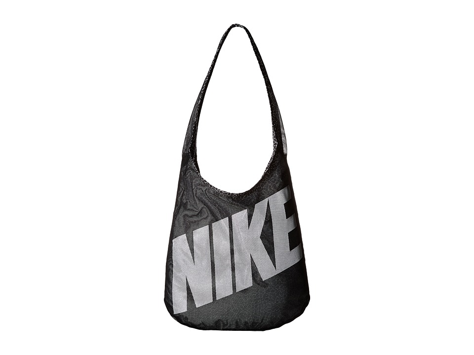 Nike - Graphic Reversible Tote (Black/Black/White 3) Tote Handbags