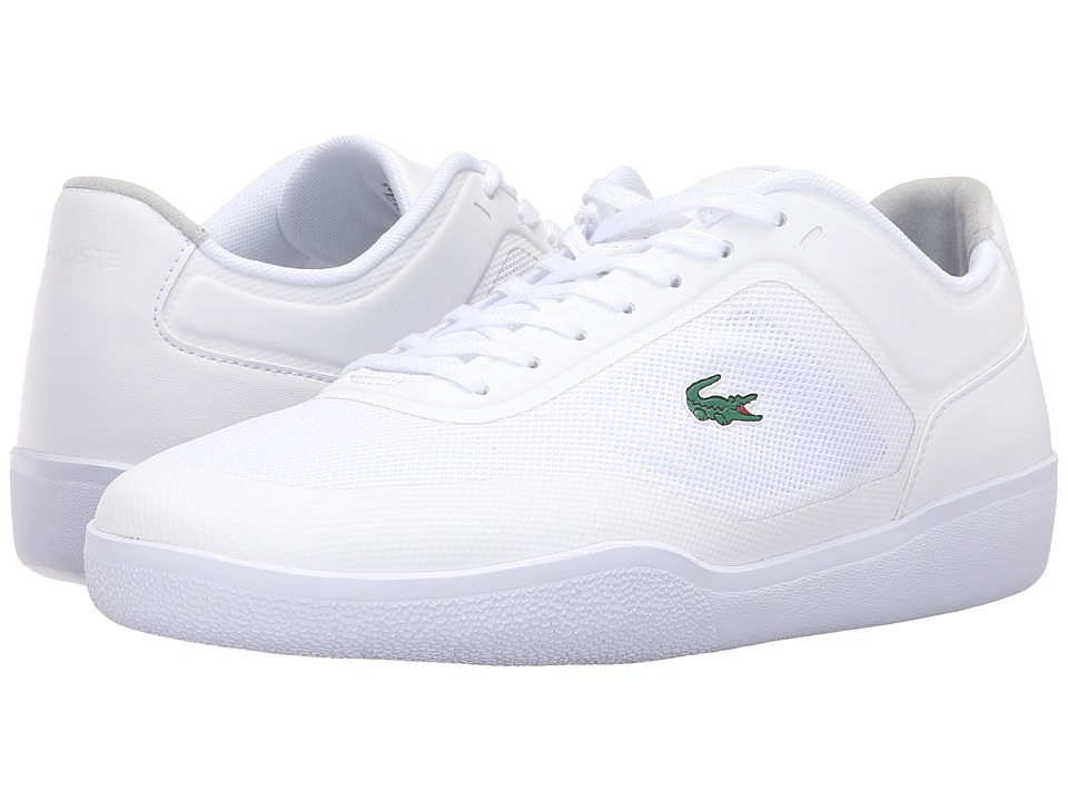 Lacoste - Tramline 116 1 (White) Men's Lace up casual Shoes
