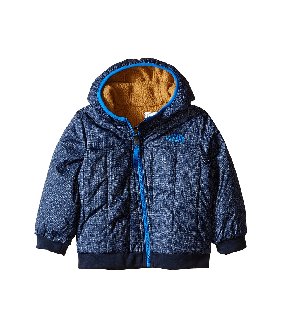 The North Face Kids - Reversible Yukon Hoodie (Infant) (Cosmic Blue Denim Print (Prior Season)) Boy's Sweatshirt